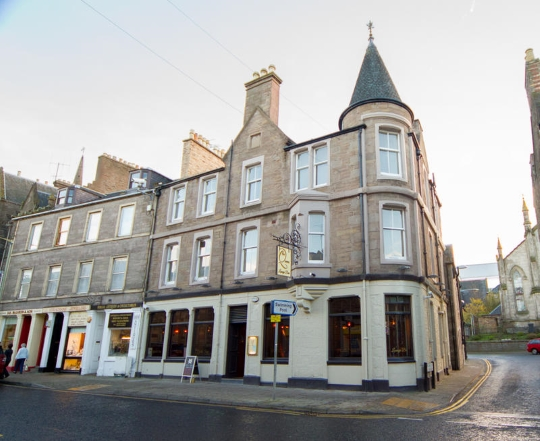 The Queens Hotel, Forfar.