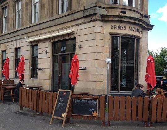The Brass Monkey, Glasgow.