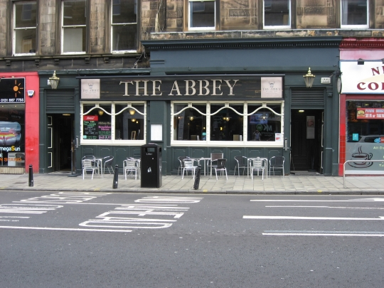 The Abbey in Edinburgh.