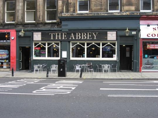 The Abbey in Edinburgh.