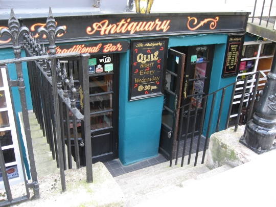The Antiquary in Edinburgh.