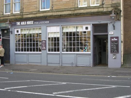 The Auld Hoose in Edinburgh.