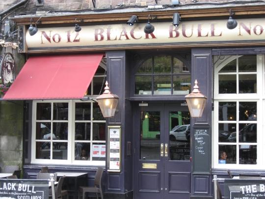 Black Bull in Edinburgh.