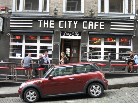 The City Cafe in Edinburgh.