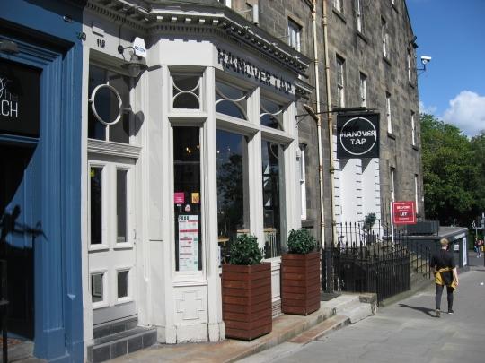 Hanover Tap in Edinburgh.