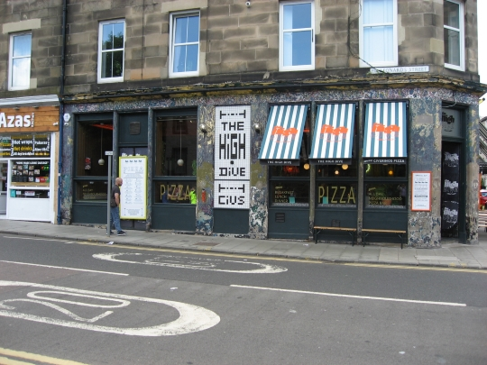 The High Dive in Edinburgh.