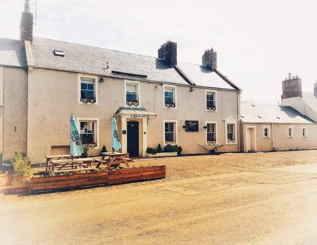 Plough Hotel in Town Yetholm