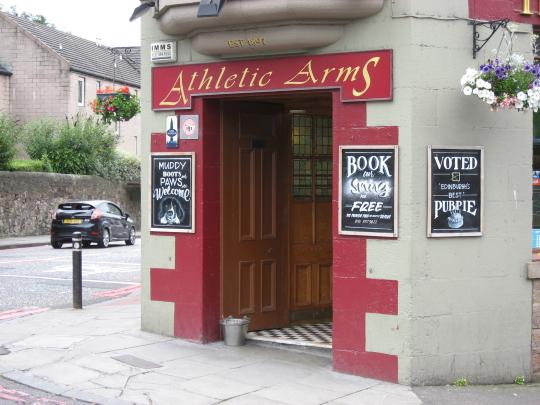 Athletic Arms in Edinburgh.