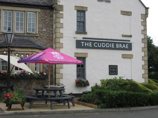 The Cuddie Brae in Musselburgh.