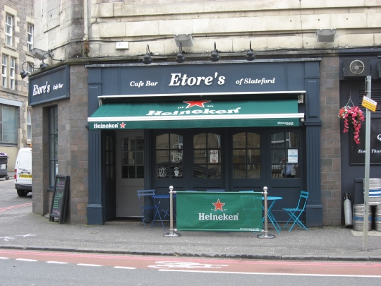 Etore's in Edinburgh.