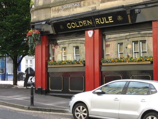 Golden Rule in Edinburgh.