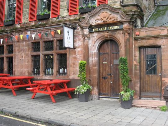 The Golf Tavern in Edinburgh.