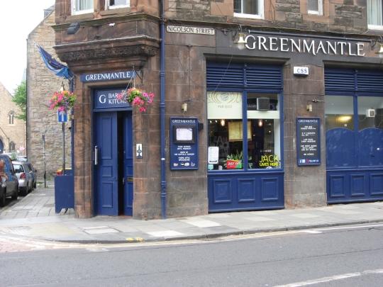 Greenmantle in Edinburgh.