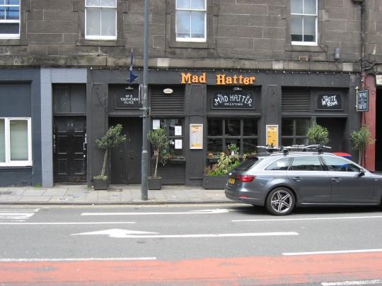 Mad Hatter in Edinburgh.