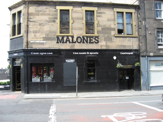 Malones in Edinburgh.