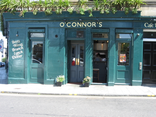 O'Connors in Edinburgh.