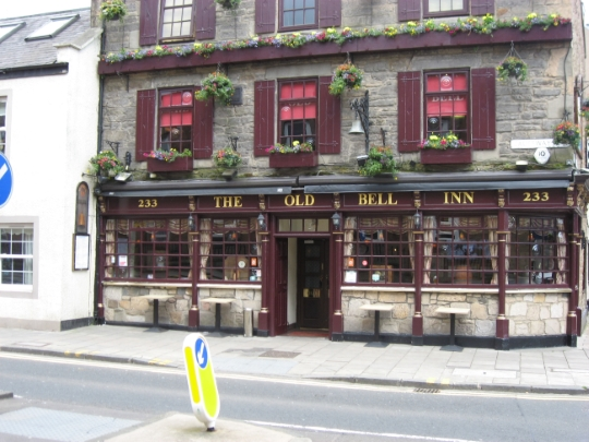 The Old Bell Inn in Edinburgh.