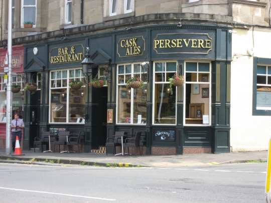 Persevere in Edinburgh.