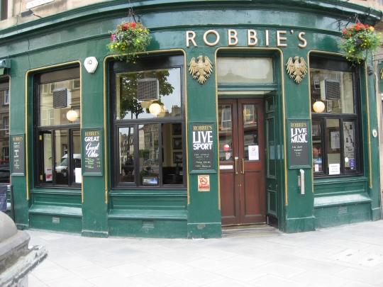 Robbie's in Edinburgh.