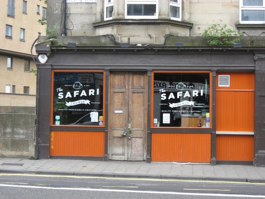 The Safari Lounge in Edinburgh.