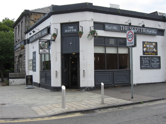 The Scottie in Edinburgh.