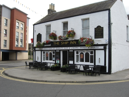 The Ship Inn in Musselburgh.