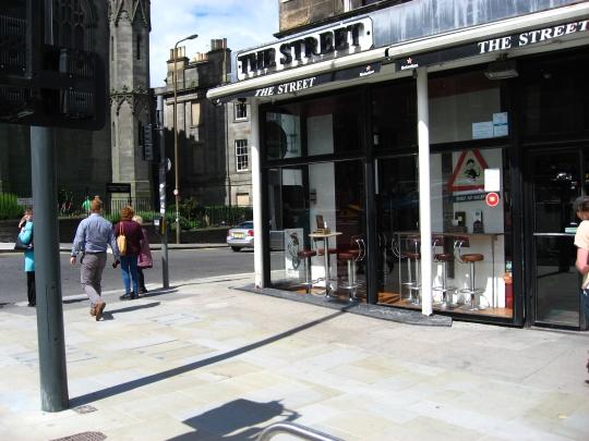 The Street in Edinburgh