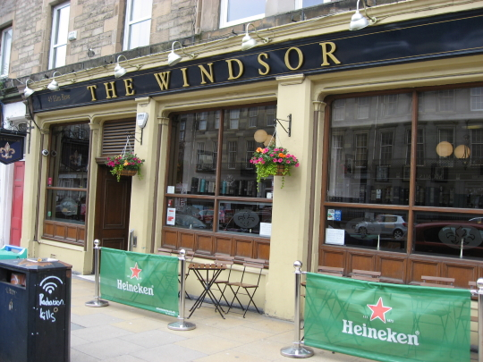 The Windsor in Edinburgh.