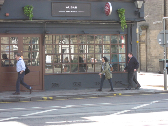 Au Bar in Edinburgh.
