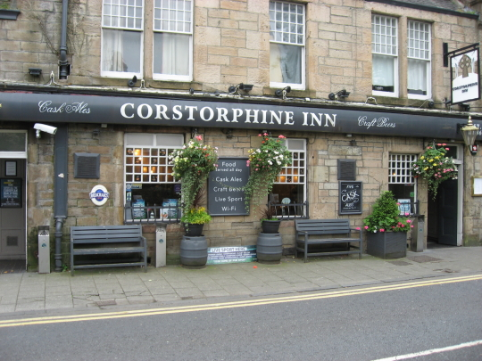 The Corstorphine Inn in Edinburgh.