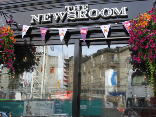The Newsroom in Edinburgh.