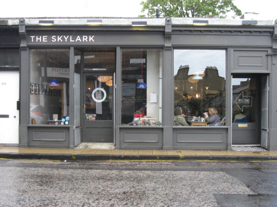 The Skylark in Edinburgh.