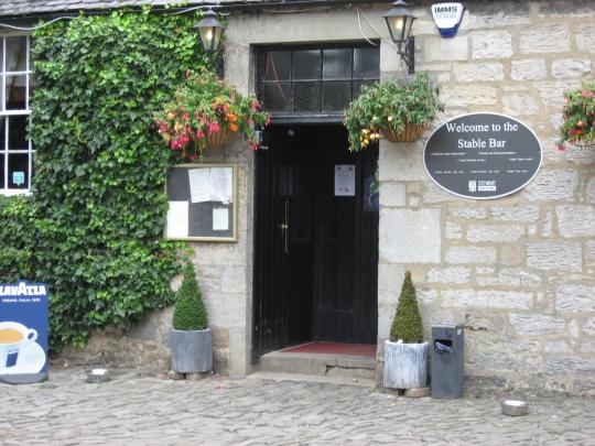 The Stable Bar in Edinburgh.