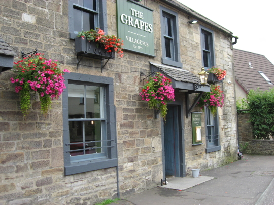 The Grapes in East Calder.