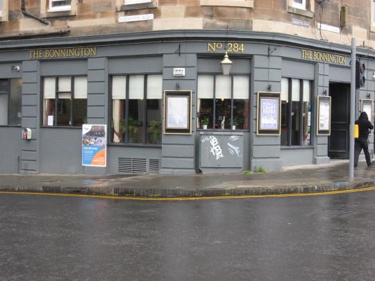 The Bonnington in Edinburgh.