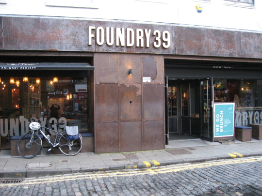 Foundry 39 in Edinburgh.