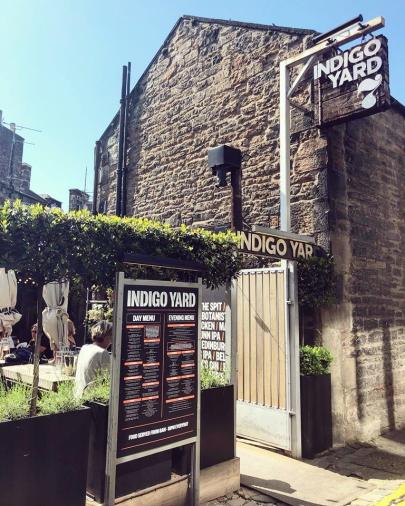 Indigo Yard in Edinburgh.
