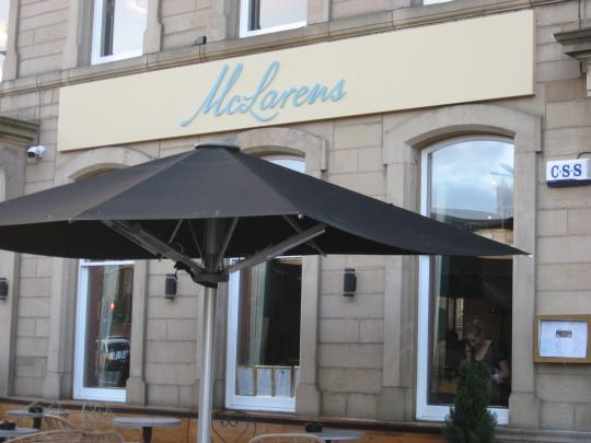 McLarens in Edinburgh.