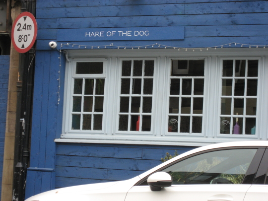 Photograph of Hare of the Dog in Edinburgh.