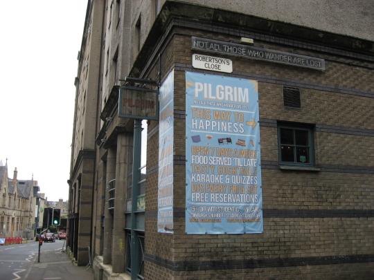 Photograph of Pilgrim in Edinburgh.