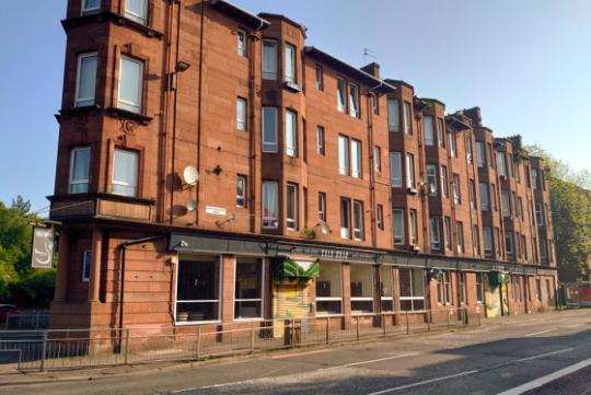 Photograph of Eala Bhán in Glasgow.