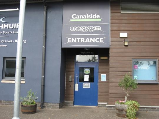 Photograph of Canalside in Edinburgh.