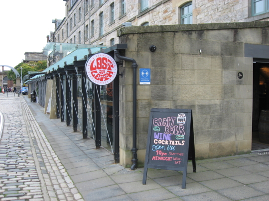 Photograph of Lost in Leith in Edinburgh.