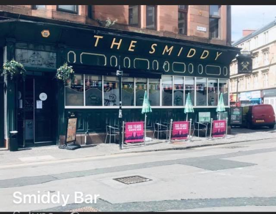 Photograph of The Smiddy in Glasgow.