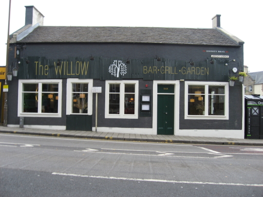 Photograph of The Willow in Edinburgh.